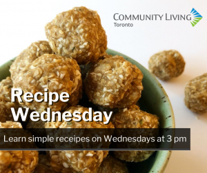 Join @ CLToronto for Recipe Wednesday